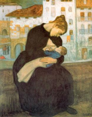 Аурелио Артета. Мать с ребенком