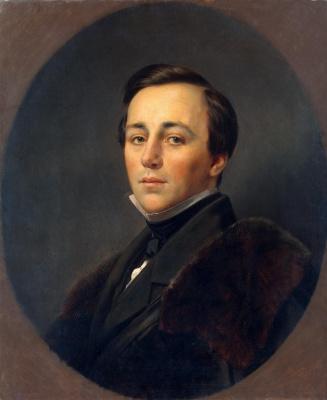 Franz Kruger. Portrait Bobrinsky