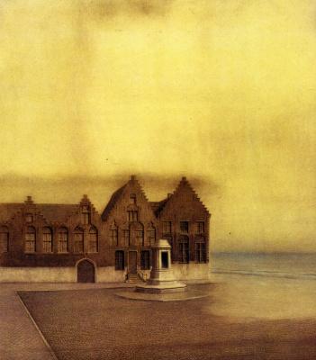 Fernand Knopf. Abandoned city