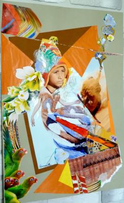 Ekaterina Alekseevna Simuni. Collage number 8