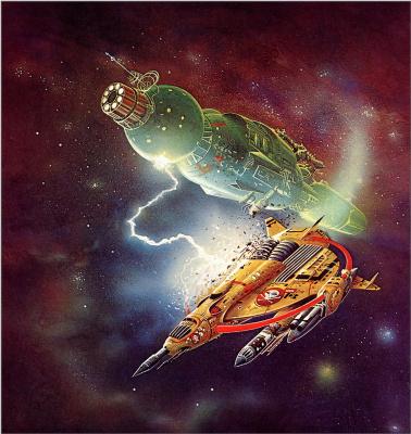 Боб Лаузелл. Космический корабль 13