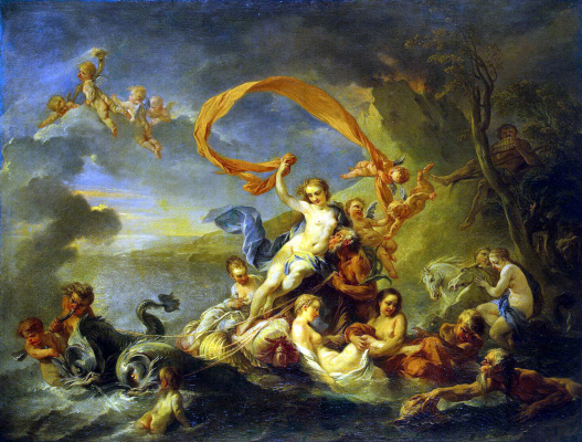 Jean-Baptiste Vanloo. The Triumph Of Galatea