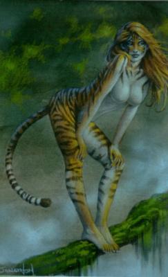 Джонатан Граф Боузер. Тигрица