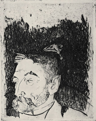 Paul Gauguin. Portrait Of Stéphane Mallarmé