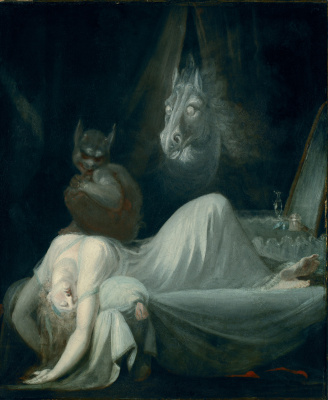 Johann Heinrich Fuessli. The nightmare