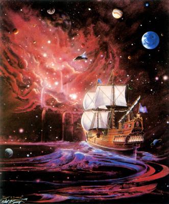 Роберт Суини. Космический корабль