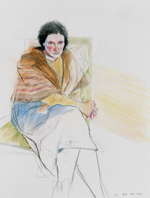 David Hockney. Lila di Nobilis