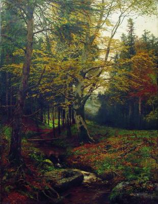 Ефим Ефимович Волков. Ручей в лесу