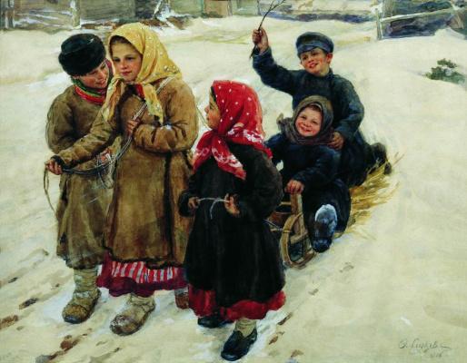 Fedor Vasilyevich Sychkov. Troika. 1906