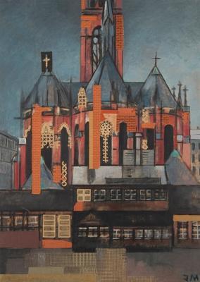 Жанна Маммен. Церковь на Винтерфельдтплац