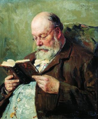 Vladimir Egorovich Makovsky. Portrait of Academician Ivan Ivanovich Yanzhul