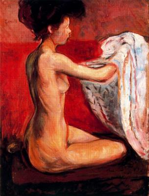 Edvard Munch. The Paris Nude
