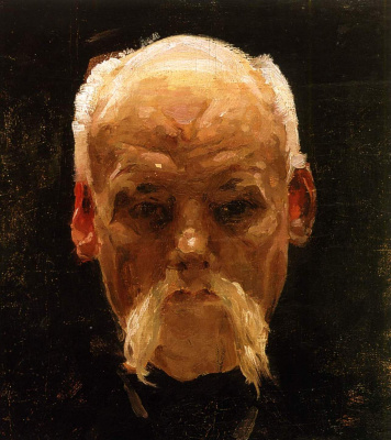 Alexander Murashko. Head of and old man