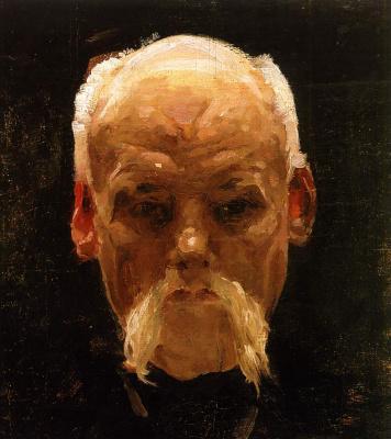 Alexander Murashko. Head of and old man