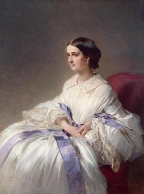 Franz Xaver Winterhalter. Portrait Of Olga Shuvalova Esperon