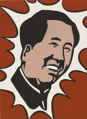 Roy Lichtenstein. The adventures of Mao the long March
