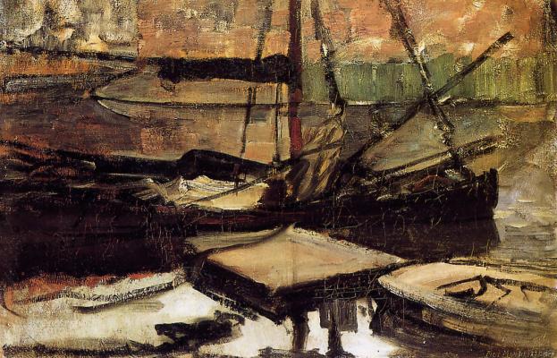 Piet Mondrian. Privatevalue boats