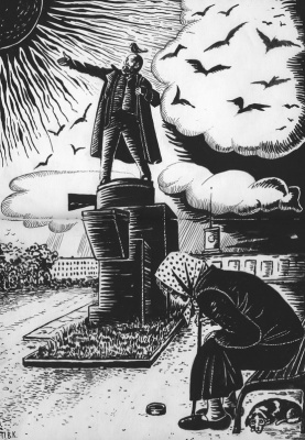 "Valentine Catharsin. ""Lenin the First"""