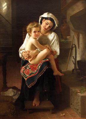 Майкл Вайнберг. Мать с ребенком на руках