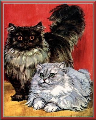 Мардж Опиц Буридг. Кошачье искусство 1