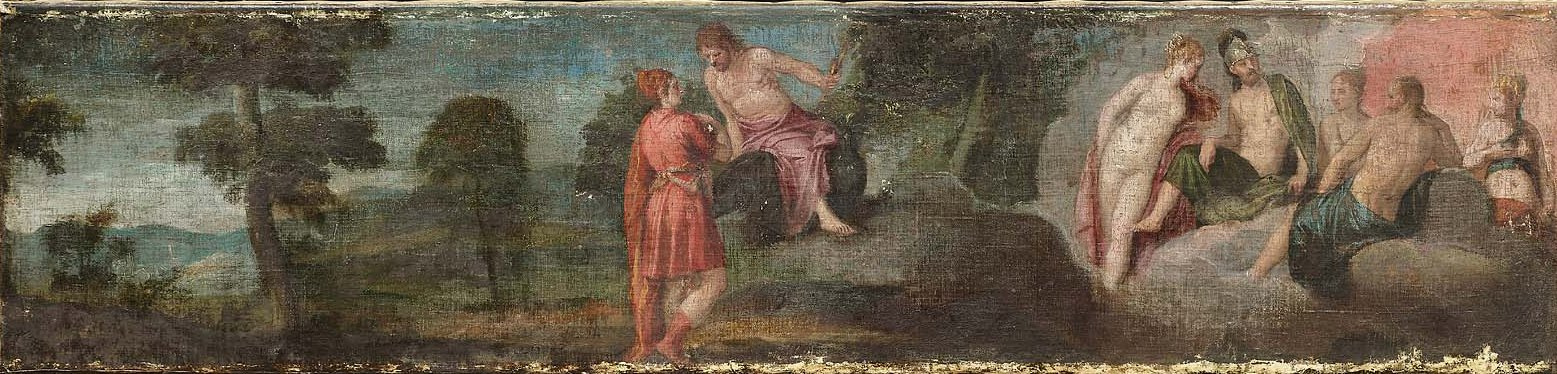 Paolo Veronese. Jupiter with the gods on Olympus