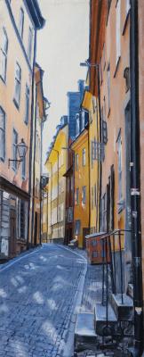 Вячеслав Юрьевич Шайнуров. Street of Stockholm