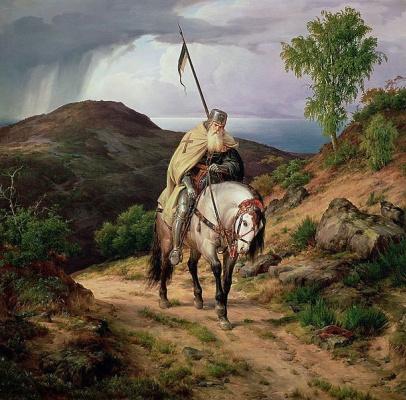 Карлд Фридрих Лессинг. Последний крестоносец