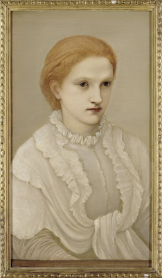 Edward Coley Burne-Jones. Lady Francis Balfour