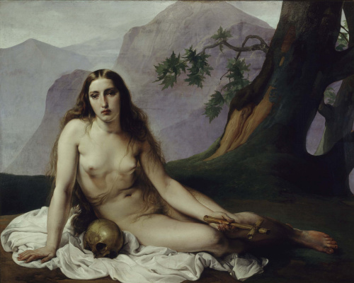 Francesco Ayets. Penitent Mary Magdalen