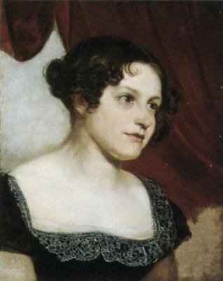 Orest Adamovich Kiprensky. Portrait of Anna Fedorovna Furman