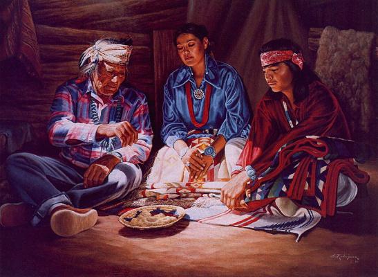 Альфредо Родригес. Свадьба навахо