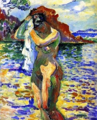 Henri Manguin. Woman Bather