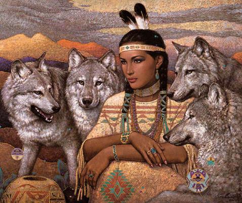 Карл Банг. Волки
