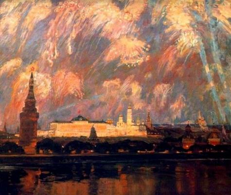 Виктор Константинович Дмитриевский. В день победы