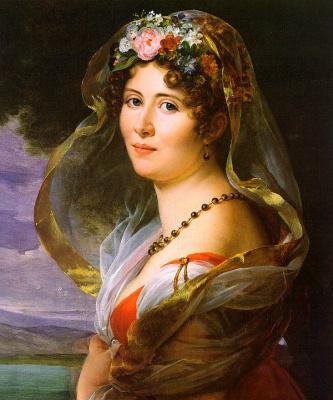 Франсуа Паскаль Симон Жерар. Женский портрет