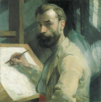 Frantisek Kupka. Self-portrait