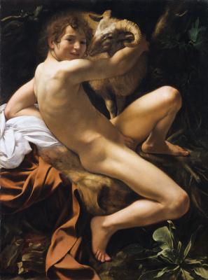 Michelangelo Merisi de Caravaggio. St. John the Baptist
