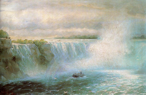 Ivan Constantinovich Aivazovski. Niagara falls