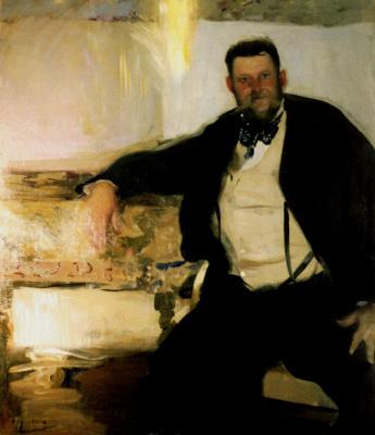 Alexander Murashko. Portrait Of Jan Stanislavsky