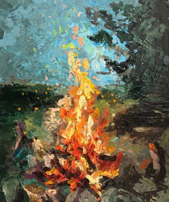Anastasia Oraina. Keep the fire inside you