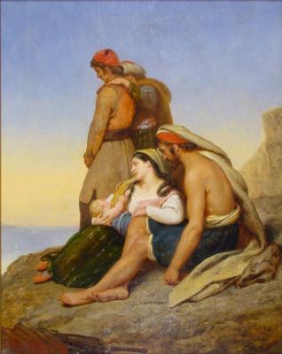 Ари Шеффер. Greeks in exile
