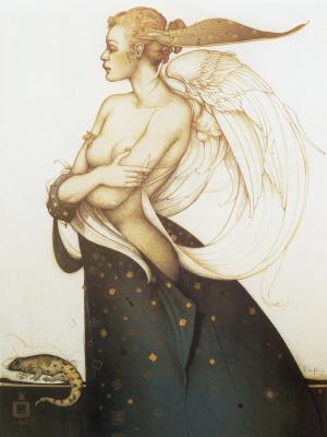 Michael Parkes. Golden Salamander