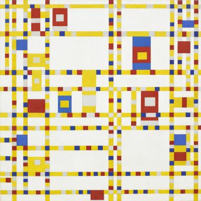 Piet Mondrian. Broadway Boogie-woogie