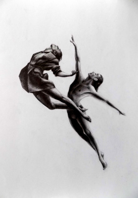 Alex Visiroff. Flight of the soul
