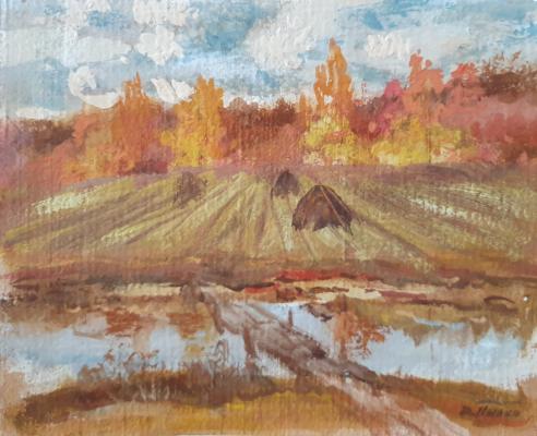 David Pilko. Ricks, autumn