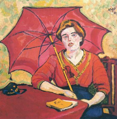 Макс Пехштейн. Красный зонт