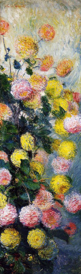 Claude Monet. Dahlias