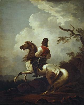 Alexander Osipovich Orlovsky. Polish horseman. State Tretyakov Gallery, Moscow
