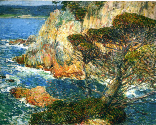 Childe Hassam. Point Lobos, Carmel