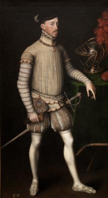 Антонис ван Дасхорст Мор. Император Максимилиан II